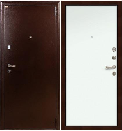Входная дверь Лекс 1А / Белый винорит (панель №59)
