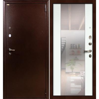 Входная дверь Лекс 1А / Стиль Белый экошпон (панель №61)