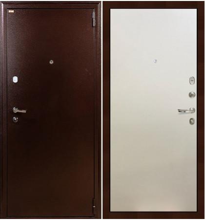 Входная дверь Лекс 1А / Белый ясень (панель №62)