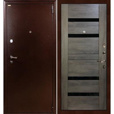 Входная дверь Лекс 1А / Неро Графит шале (панель №65)