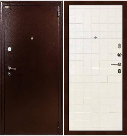 Входная дверь Лекс 1А / Белый ясень (панель №56)