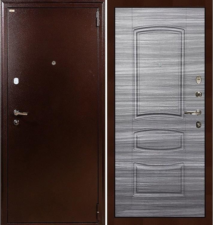Входная дверь Лекс 1А / Сандал серый (панель №69)