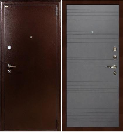 Входная дверь Лекс 1А / Графит софт (панель №70)