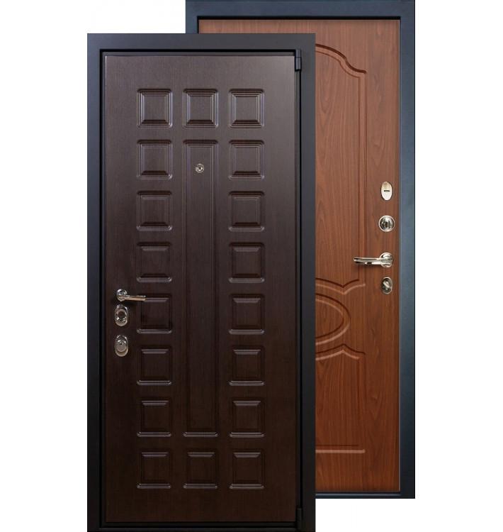 Входная дверь Лекс Неаполь 4А ФЛ-12 (Береза мореная)