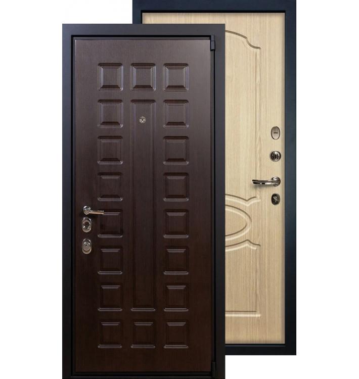 Входная дверь Лекс Неаполь 4А ФЛ-14 (Беленый дуб)