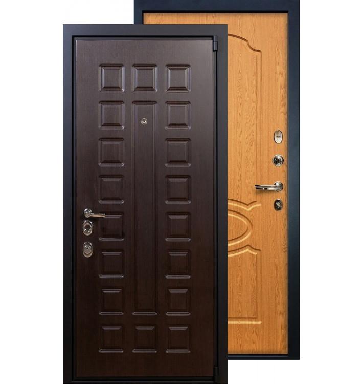 Входная дверь Лекс Неаполь 4А ФЛ-15 (Дуб натуральный)