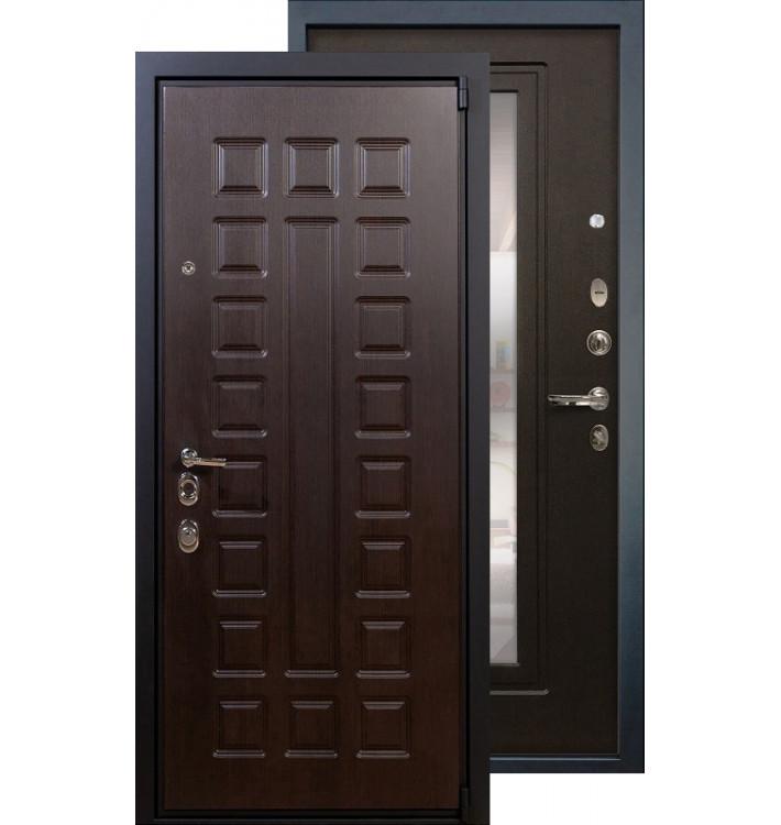 Входная дверь Лекс Неаполь 4А с зеркалом (Венге)