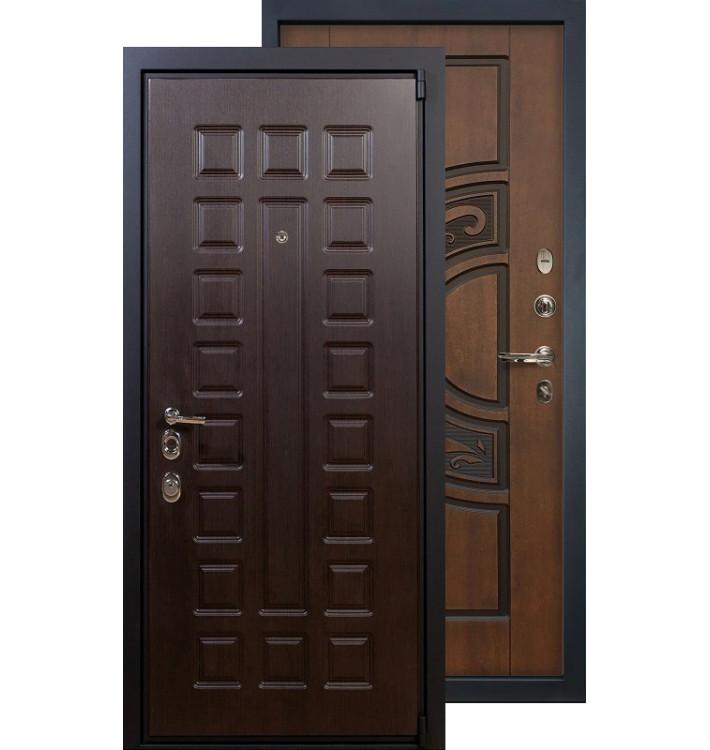 Входная дверь Лекс Неаполь 4А ФЛ-27 (Голден патина)