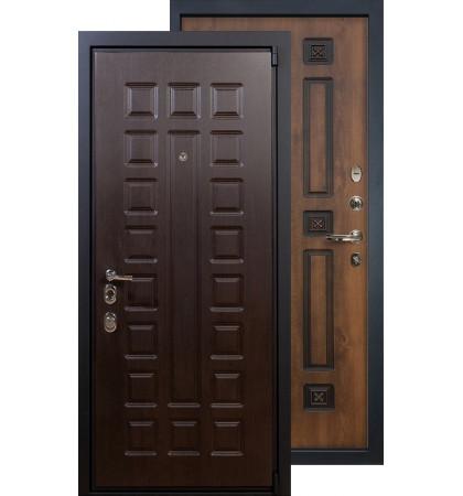 Входная дверь Лекс Неаполь 4А ФЛ-33 (Голден патина)
