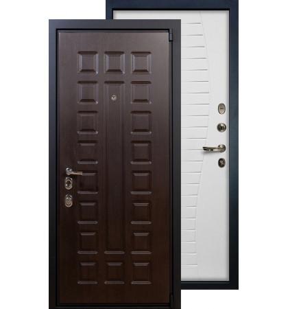 Входная дверь Лекс Неаполь 4А Волна (Белый ясень)