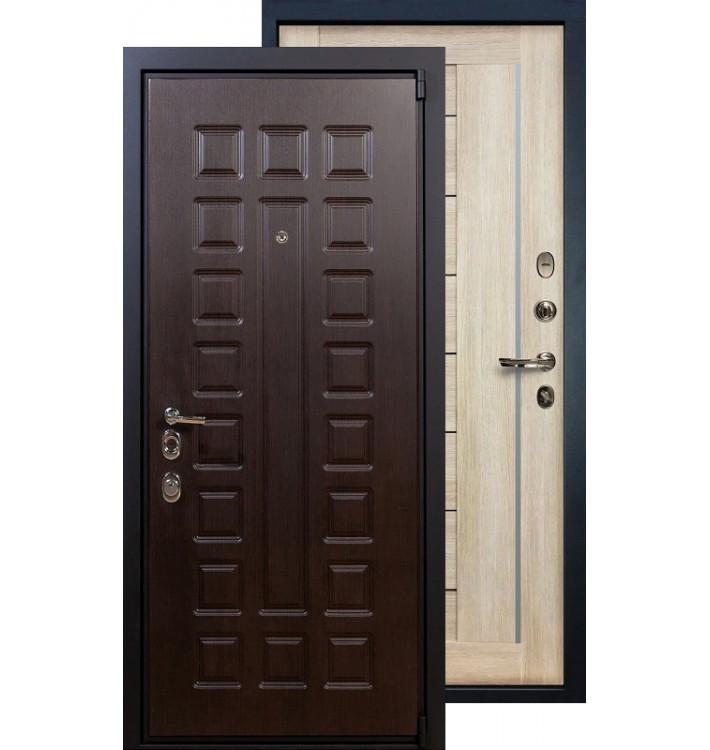 Входная дверь Лекс Неаполь 4А Верджиния (Кремовый ясень)