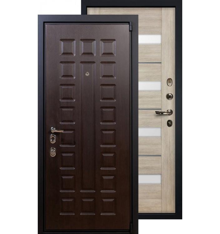Входная дверь Лекс Неаполь 4А Сицилио (Кремовый ясень)