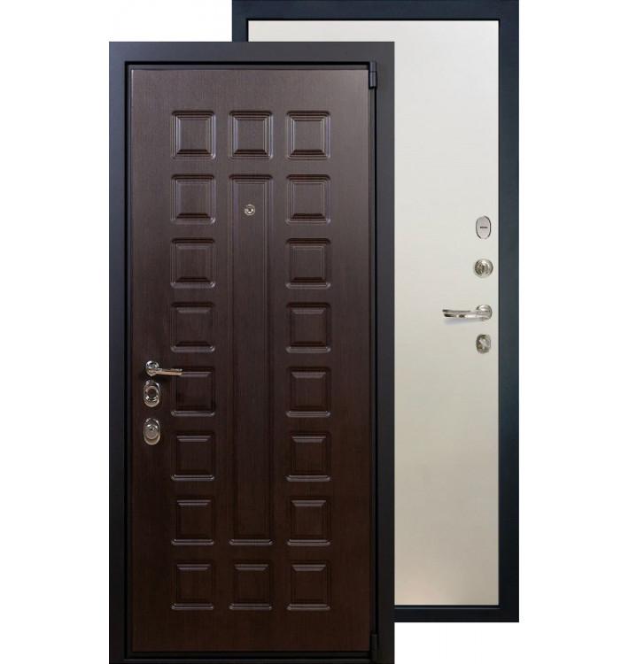 Входная дверь Лекс Неаполь 4А ФЛ-62 (Белый ясень)