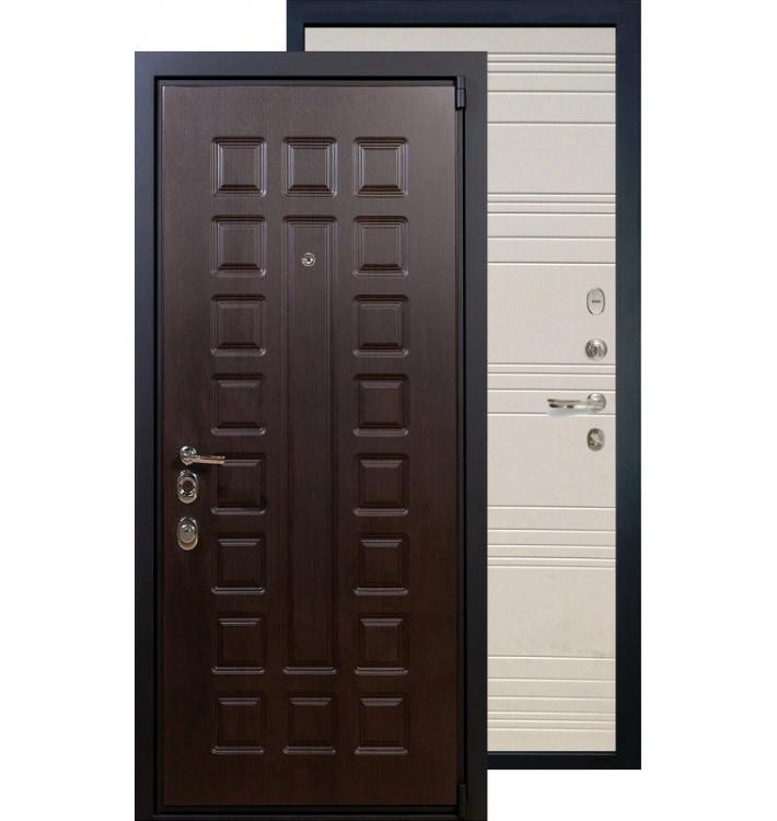 Входная дверь Лекс Неаполь 4А ФЛ-12 (Дуб фактурный)
