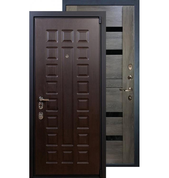 Входная дверь Лекс Неаполь 4А Неро (Графит шале)