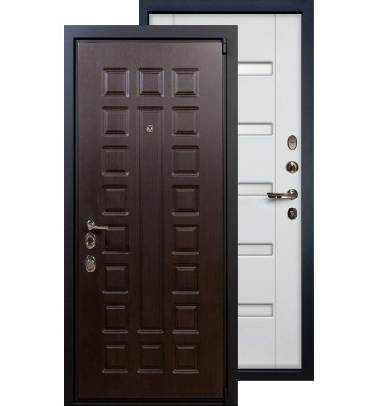 Входная дверь Лекс Неаполь 4А ФЛ-34 (Белый ясень)