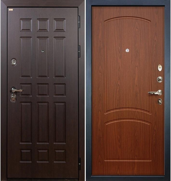 Входная дверь Сенатор / Береза мореная (панель №11)