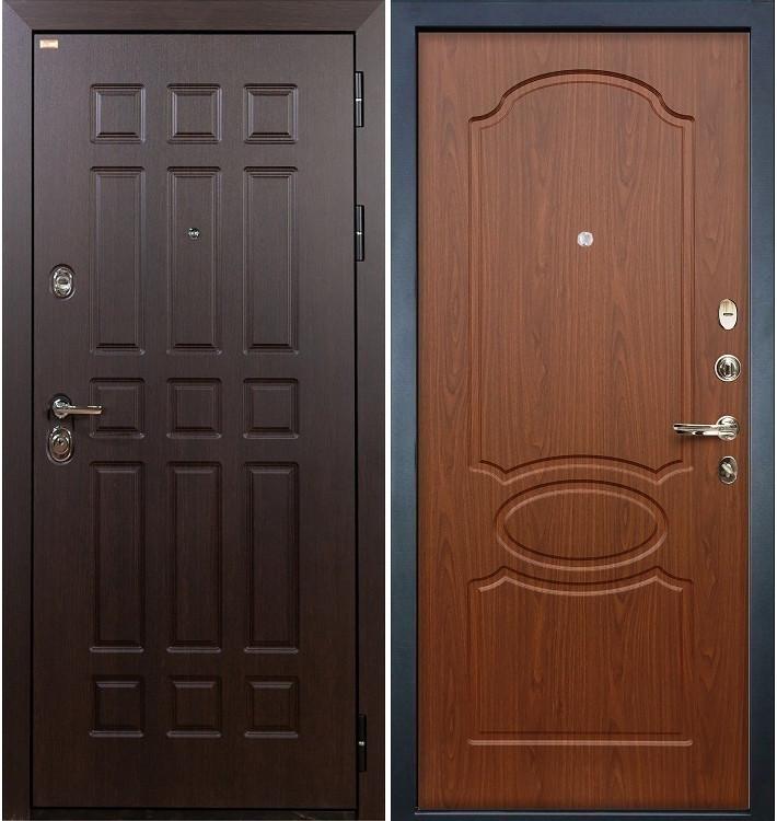 Входная дверь Сенатор / Береза мореная (панель №12)