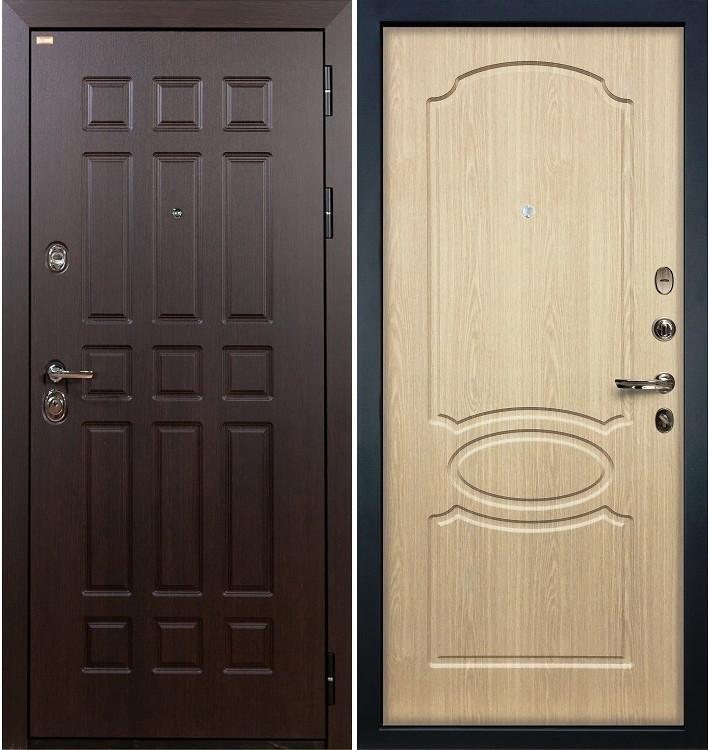 Входная дверь Сенатор / Беленый дуб (панель №14)