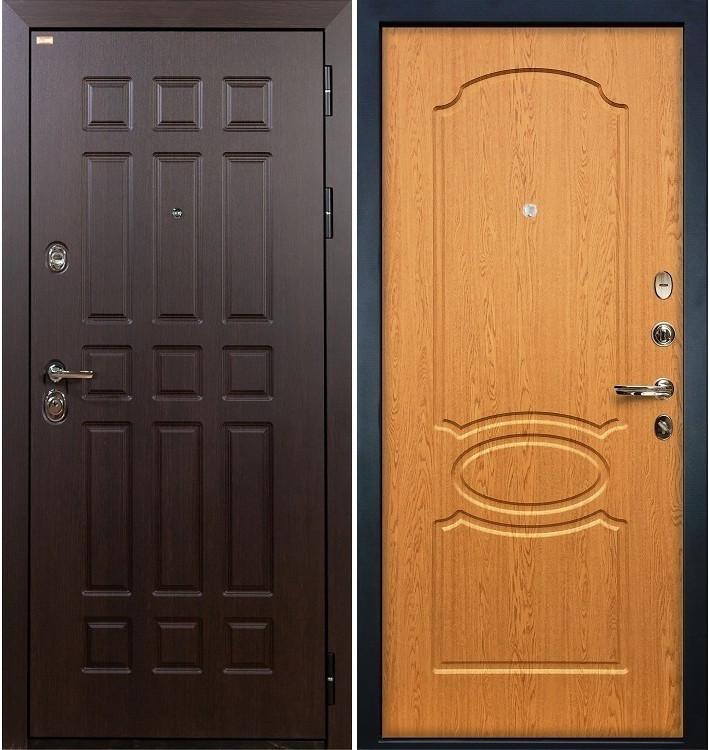 Входная дверь Сенатор / Дуб натуральный (панель №15)