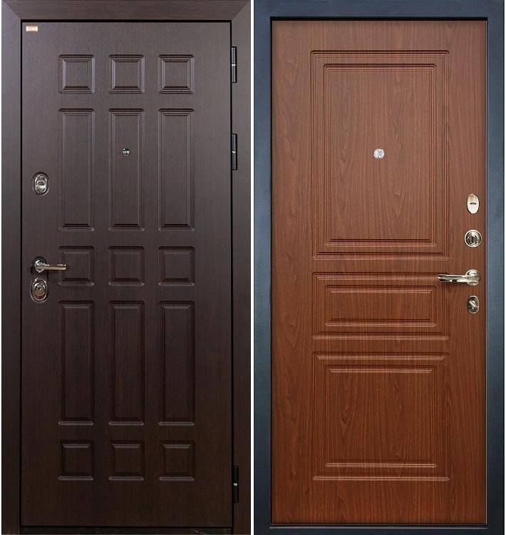 Входная дверь Сенатор / Береза мореная (панель №19)