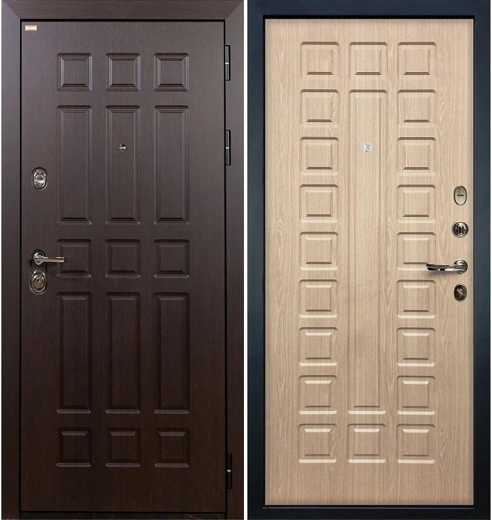 Входная дверь Сенатор / Беленый дуб (панель №20)