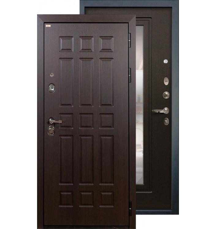 Входная дверь Лекс Сенатор с зеркалом (Венге)
