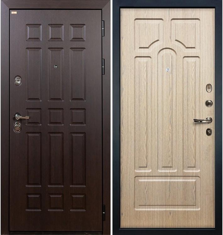 Входная дверь Сенатор / Беленый дуб (панель №25)