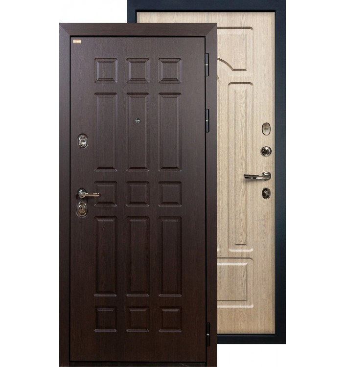 Входная дверь Лекс Сенатор ФЛ-25 (Беленый дуб)