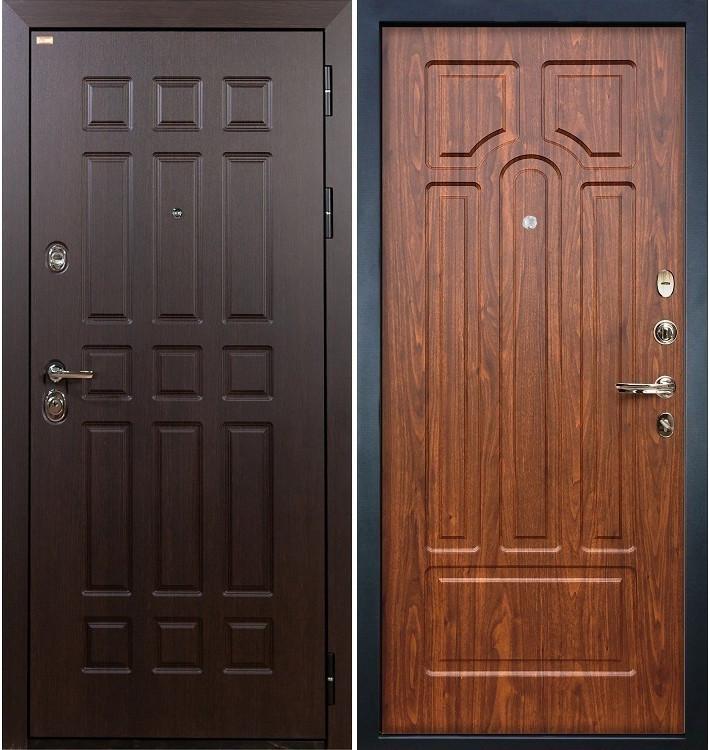 Входная дверь Сенатор / Береза мореная (панель №26)