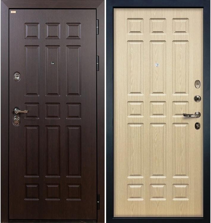 Входная дверь Сенатор / Беленый дуб (панель №28)