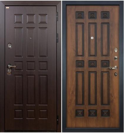 Входная дверь Сенатор / Голден патина (панель №33)
