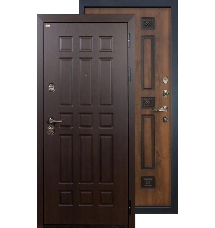 Входная дверь Лекс Сенатор ФЛ-33 (Голден патина)