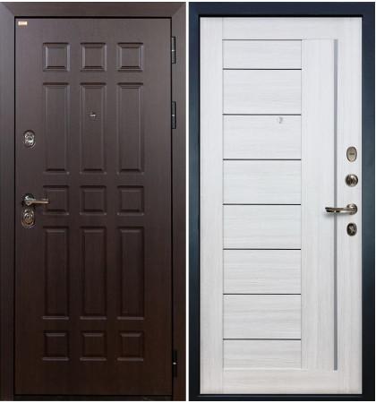 Входная дверь Сенатор / Верджиния Беленый дуб (панель №38)