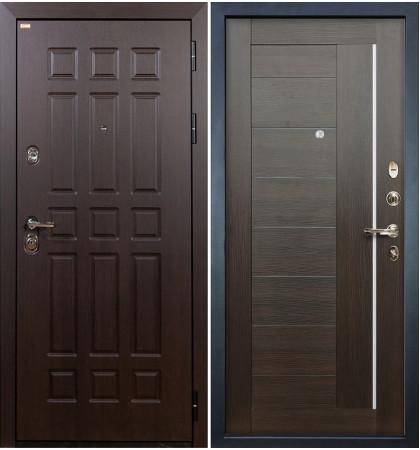 Входная дверь Сенатор / Верджиния Венге (панель №39)