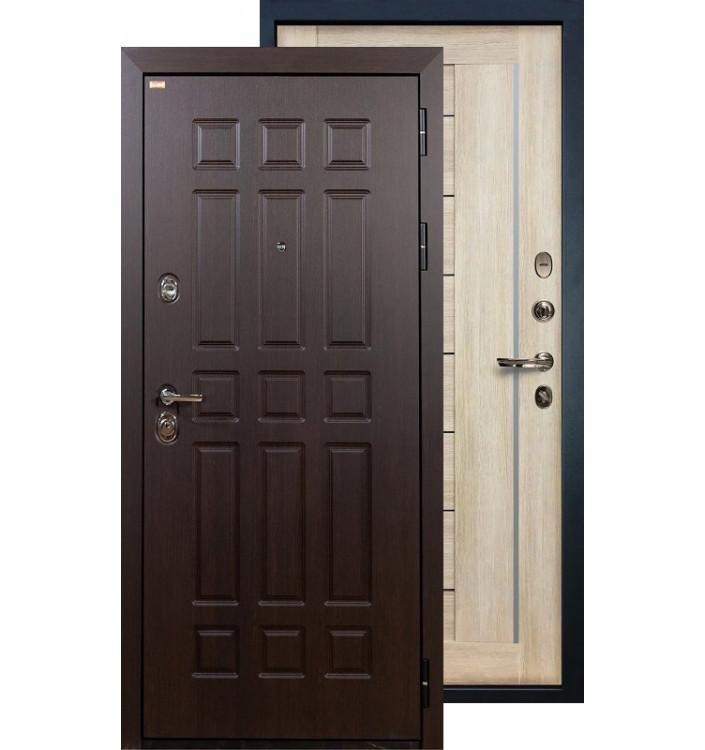 Входная дверь Лекс Сенатор Верджиния (Кремовый ясень)