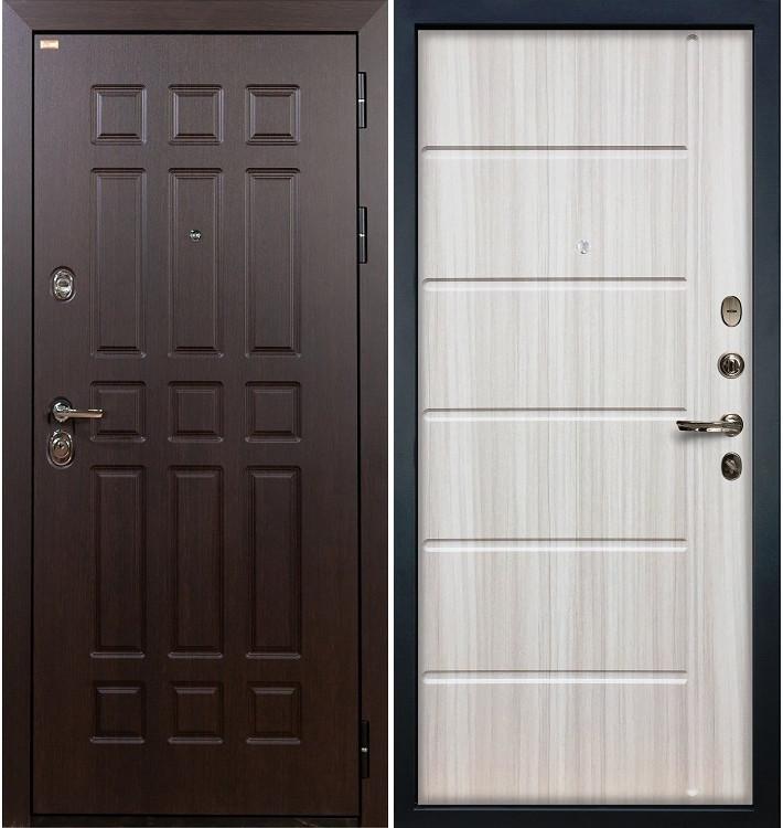 Входная дверь Сенатор / Сандал белый (панель №42)
