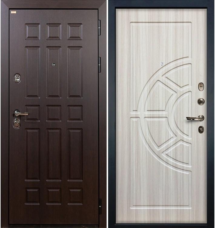 Входная дверь Сенатор / Сандал белый (панель №44)