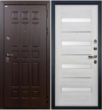 Входная дверь Сенатор / Сицилио Беленый дуб (панель №46)