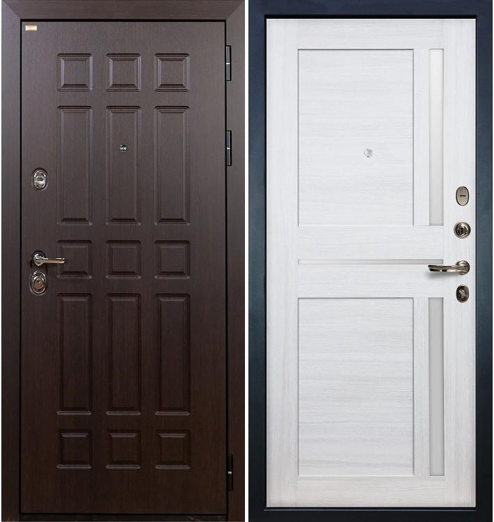 Входная дверь Сенатор / Баджио Беленый дуб (панель №47)
