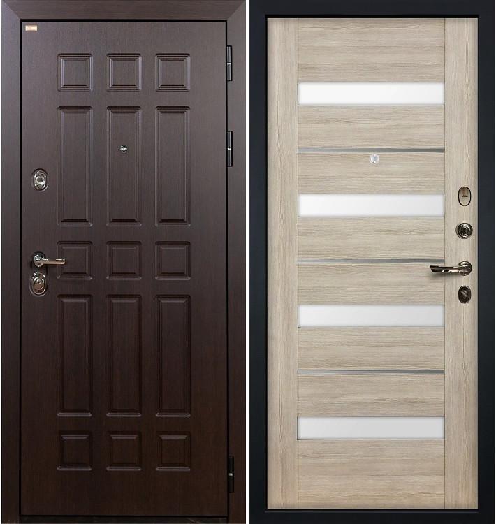 Входная дверь Сенатор / Сицилио Ясень кремовый (панель №48)