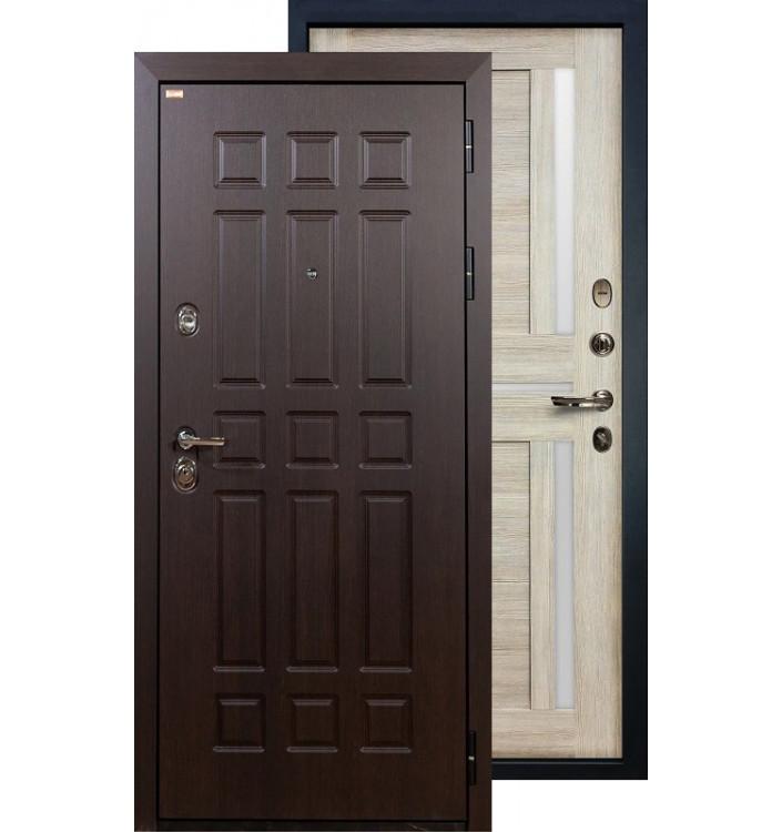 Входная дверь Лекс Сенатор Баджио (Кремовый ясень)