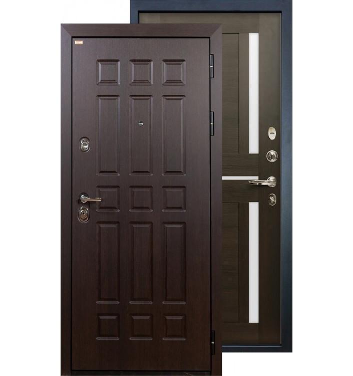 Входная дверь Лекс Сенатор Баджио (Венге)
