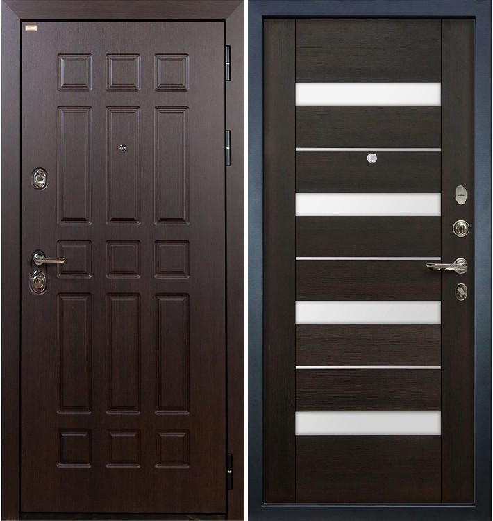 Входная дверь Сенатор / Сицилио Венге (панель №51)