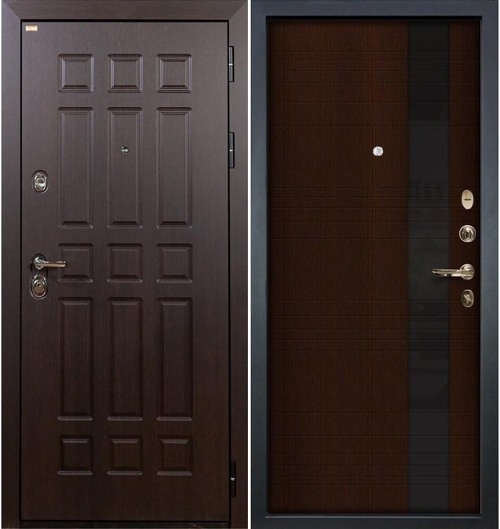 Входная дверь Сенатор / Новита Венге (панель №53)