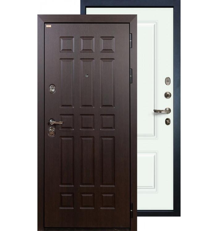 Входная дверь Лекс Сенатор Вероника (Белая эмаль)