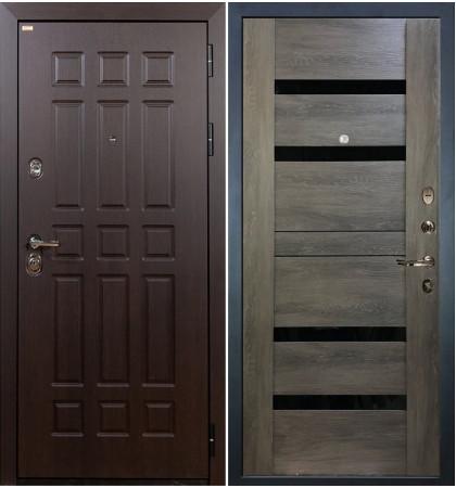 Входная дверь Сенатор / Неро Графит шале (панель №65)