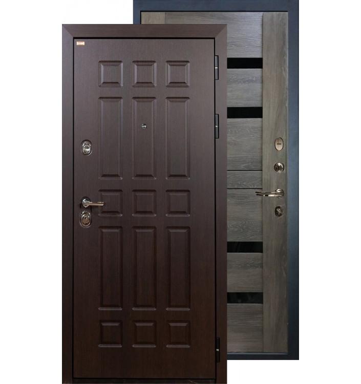 Входная дверь Лекс Сенатор Неро (Графит шале)