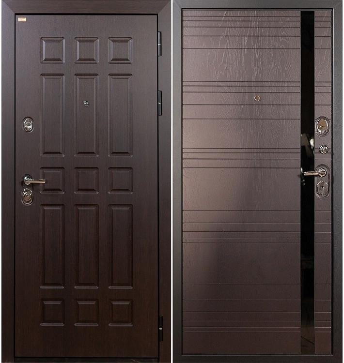 Входная дверь Сенатор / Ясень шоколадный (панель №31)