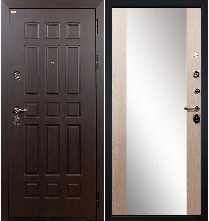 Входная дверь Сенатор / Стиль Беленый дуб (панель №45)